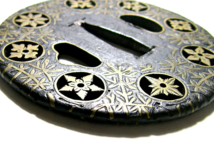 Japanese Genuine Sword Guard made by Koike Yoshiro